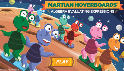 Martian Hoverboards Expressions