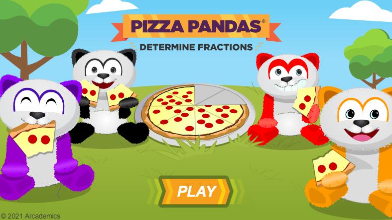 Pizza Pandas Fractions