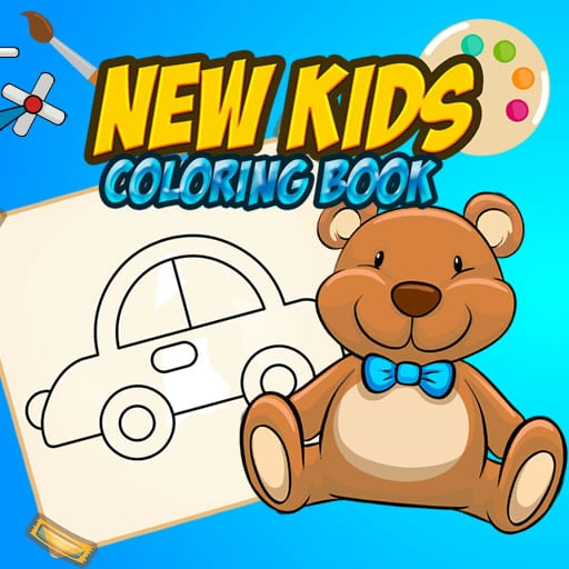 New Kids Coloring Book