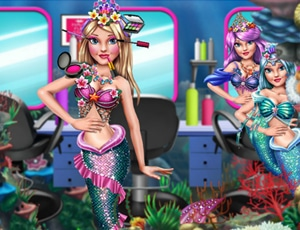 Princess Mermaid Beauty Salon