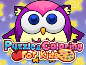 Puzzle Coloring for Kids