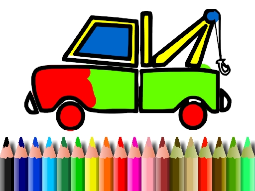 BTS Truck Coloring